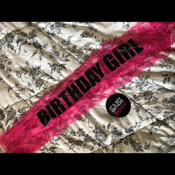 Birthday Girl Kit - Sash, Button and Crown